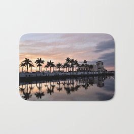 Reflecting Palms Bath Mat