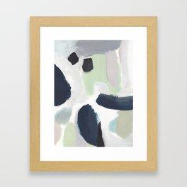 For You Blue Framed Art Print