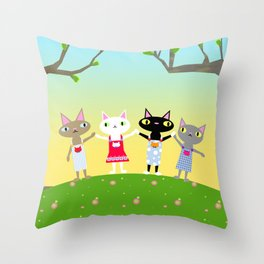 Issho Throw Pillow