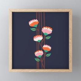 Benoít Flowers Framed Mini Art Print