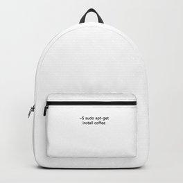 Linux Admin  Sudo apt-get install Coffee Programmer Backpack