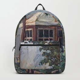 Flower Garden, by Egon Schiele Backpack