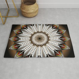 Feather Design Rug