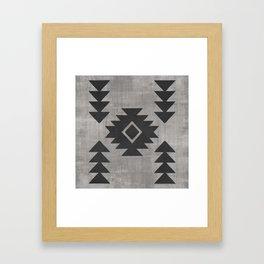 Aztec Tribal Framed Art Print