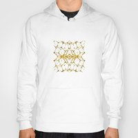 dna Hoodies featuring Gold DNA by kartalpaf