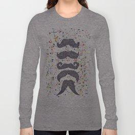 mustache power Long Sleeve T-shirt