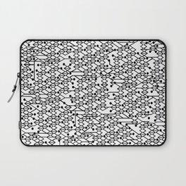 Microchip Pattern Laptop Sleeve