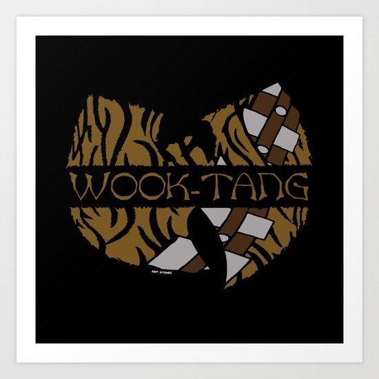 Wook Tang Clan Pt. 2 Art Print