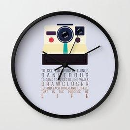 purpose of life Wall Clock
