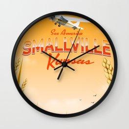Smallville Kansas Sunset edition Wall Clock