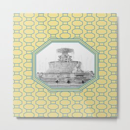Detroit, Michigan_Scott Fountain_Belle Isle Metal Print