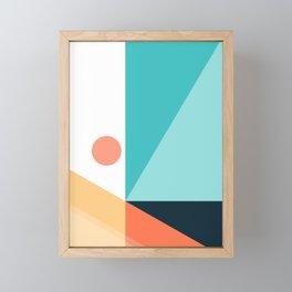 Geometric 1709 Framed Mini Art Print