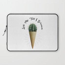 Ice Cream Cactus Lick Me Laptop Sleeve