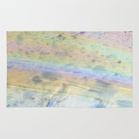 oil Area & Throw Rugs featuring Oil by Miss Meow