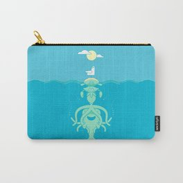 Sea Totem Carry-All Pouch