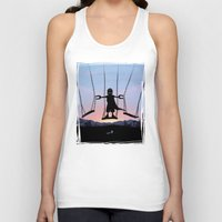 magneto Tank Tops featuring Magneto Kid by Andy Fairhurst Art