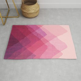 Abstraction_MOUNTAINS Rug