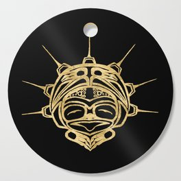 Gold Frog Ink Cutting Board