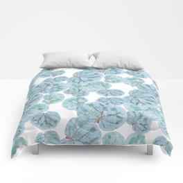 Sea Grape Tropical Leaves Comforters