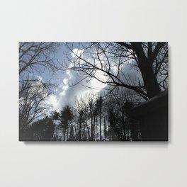 Silhouette Serenity Metal Print