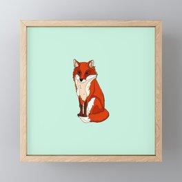 For Fox Sake Framed Mini Art Print