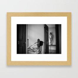 nettie at home #2. new orleans, la. 2015.  Framed Art Print