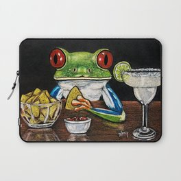 """""""Margarita"""" - Frogs After Five"""" collection Laptop Sleeve"""