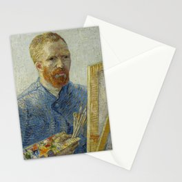 Self Portrait as a Painter Stationery Cards