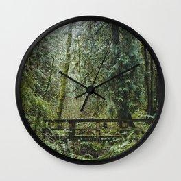 Fairie Bridge Wall Clock