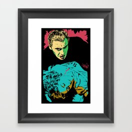The Terrifying Lover Framed Art Print
