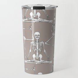 Skeleton Yoga Travel Mug