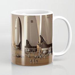 SpaceX Mars Fleet Coffee Mug