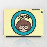 daria iPad Cases featuring Daria Symbol by Marianna