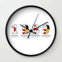 1989 - NAVY - My Year of Birth Wall Clock