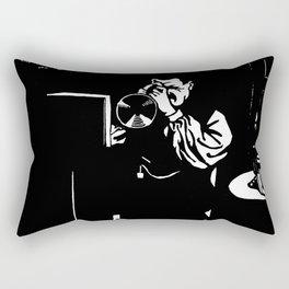 Le Piston Félix Vallotton - French Vintage Retro Woodcut Rectangular Pillow
