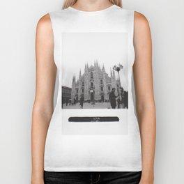 Milan in Black & White Biker Tank
