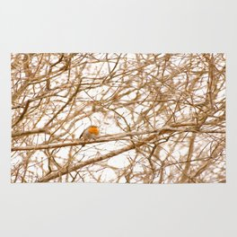 Robin In Early Spring #decor #society6 Rug
