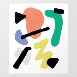 Cowabunga Dude Art Print