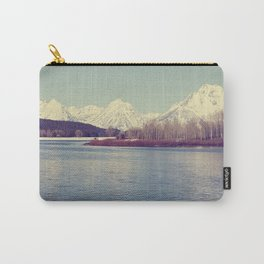 Grand Tetons on the Lake Carry-All Pouch