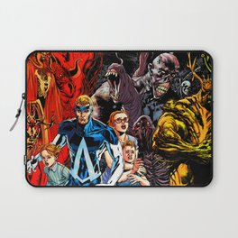 against crime Laptop Sleeve