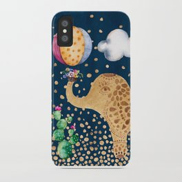 Elephant Play iPhone Case
