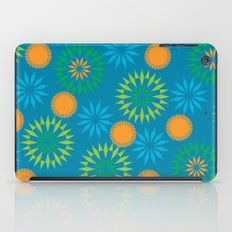 Spikey Flower Calm iPad Case
