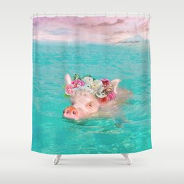 Whistle your soundtrack, daydream your future. Shower Curtain