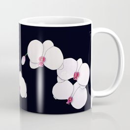 Trois Orchids and a Bud Coffee Mug