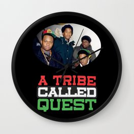 A Tribe Called Quest Wall Clock