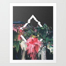 DARK ORCHID 4 Art Print