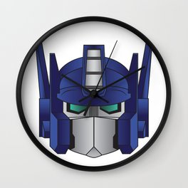 Optimus Prime Wall Clock