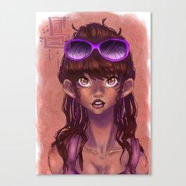 Miss Sunshine Canvas Print