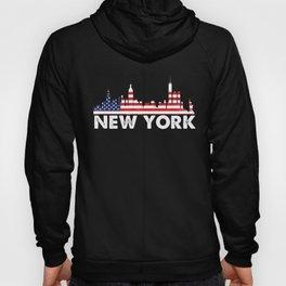 New York American Flag Shirt, 4th of July shirts Hoody