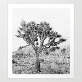 Joshua Tree Giant by CREYES Art Print